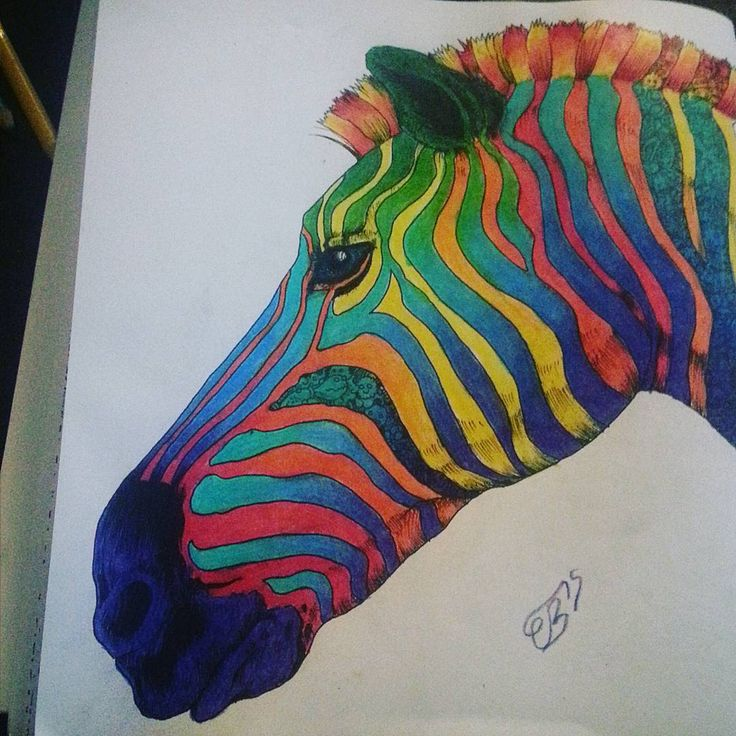257 Best Color Book Animorphia Images On Pinterest