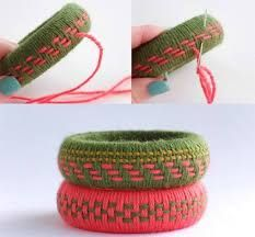 Image result for thread wrapping necklaces