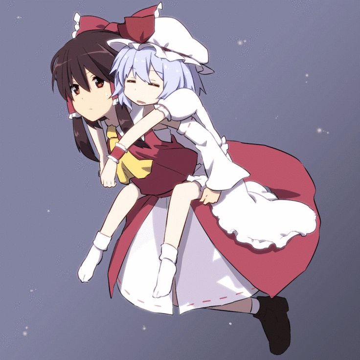 Touhou Project,Anime Tenchou x Touhou Project, Project Shrine Maiden,anime,anime gif