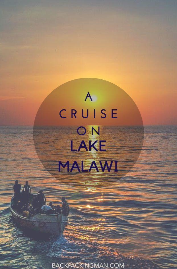 A Cruise On Lake Malawi Aboard An Old Steamship.