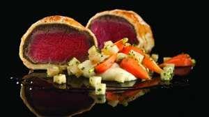 Beef Wellington at Gordon Ramsey Steak in Vegas....always wanted to try it!