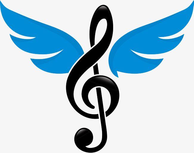 Diseno De Logo Musical Marca Comercial Ala Personaje Png Y Psd Para Descargar Gratis Pngtree Music Logo Design Music Logo Logo Musik