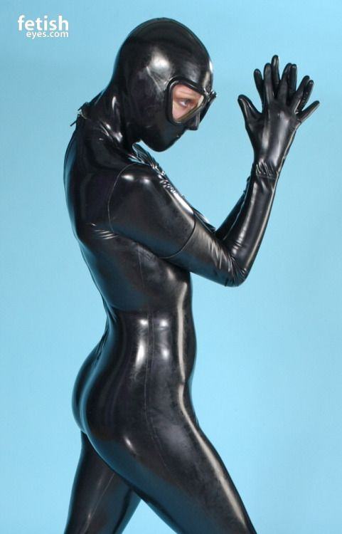 Shiny and Sexy | FetishEyes | Latex suit, Latex y Rubber dress