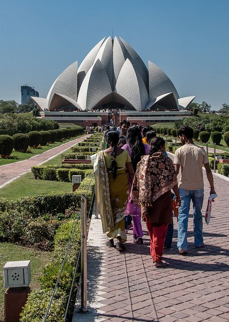India the Lotus Temple
