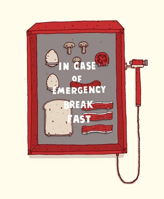 Literal Pun Illustrations     This Jaco Haasbroek 'The Daily Grind' Series is Witty