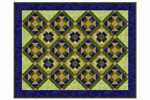 Free quilt patterns of all types and sizes, including bed quilts, lap quilts, baby quilts, miniatures and more. Instructions by Janet Wickell.