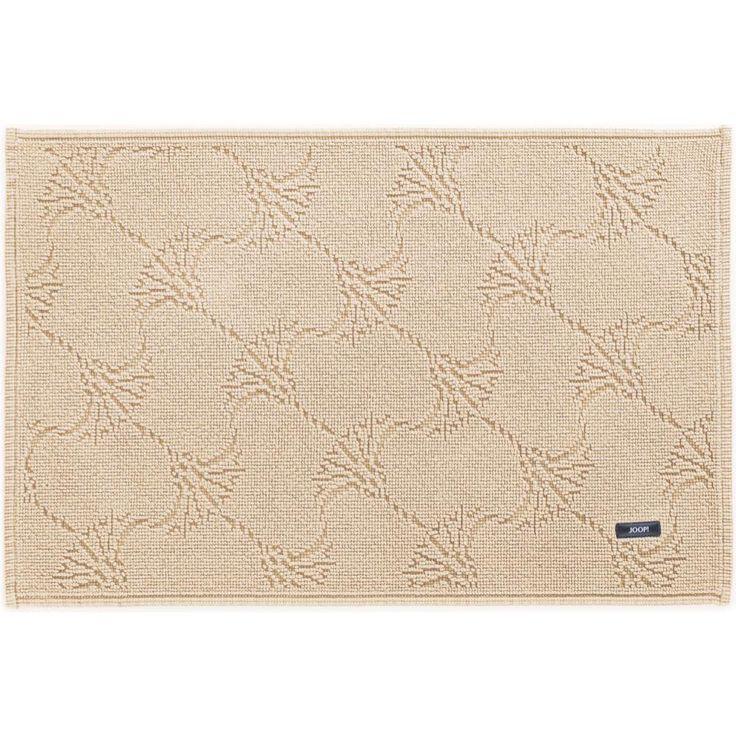 Beżowy dywanik łazienkowy JOOP! NEW CORNFLOWER - NieMaJakwDomu