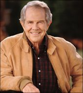 Pat Robertson - The 700 Club  Founder and Chairman, The Christian Broadcasting Network. Read his bio here: http://www.cbn.com/700club/showinfo/staff/patrobertson.aspx