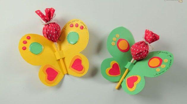 Lembrancinha de borboletas para festa infantil - Bolsa de Mulher