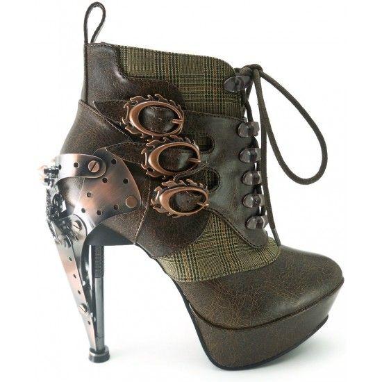 Boutique: http://www.kristysempire.com/chaussures-hades-goth-steampunk/7681-bottines-hades-steampunk-femme-oxford-talons-haut-marron.html
