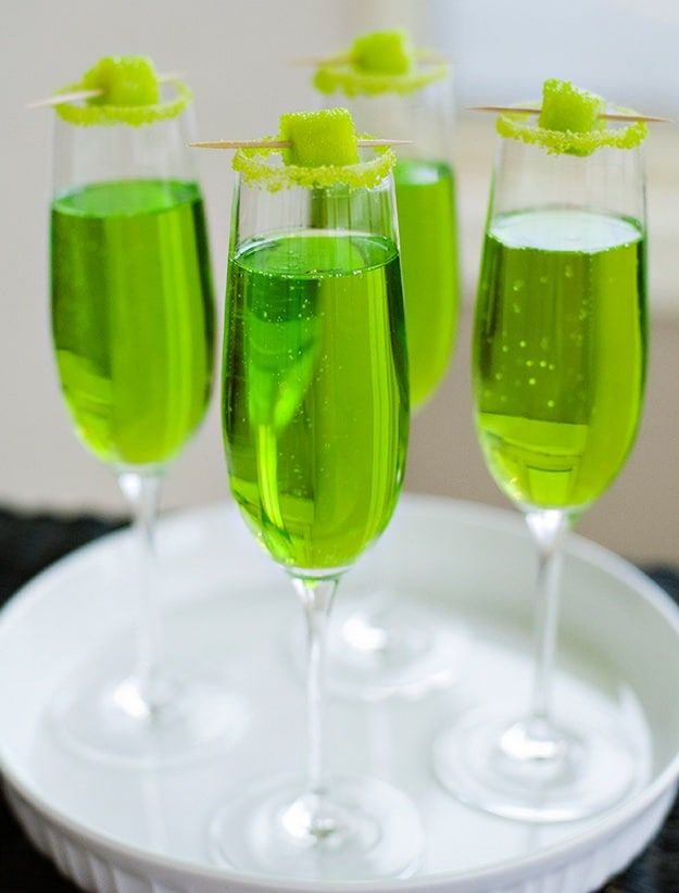 741 best drinks images on pinterest healthy shakes for Green alcoholic drinks recipes