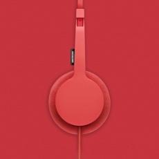Urbanears Tanto Headphones in Tomato
