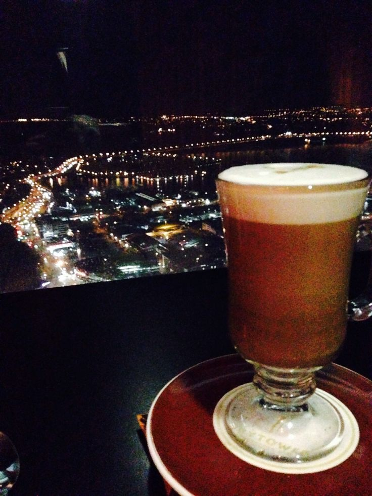 Coffee? Awesome view up there