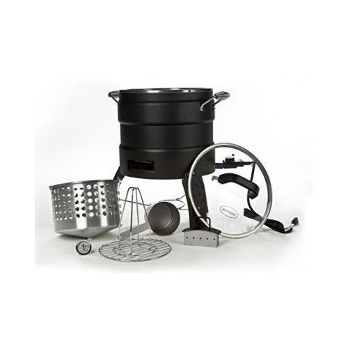 Oil Free Turkey Deep Fryer Electric Cooking Quart Basket Thanksgiving Butterball #Masterbuilt