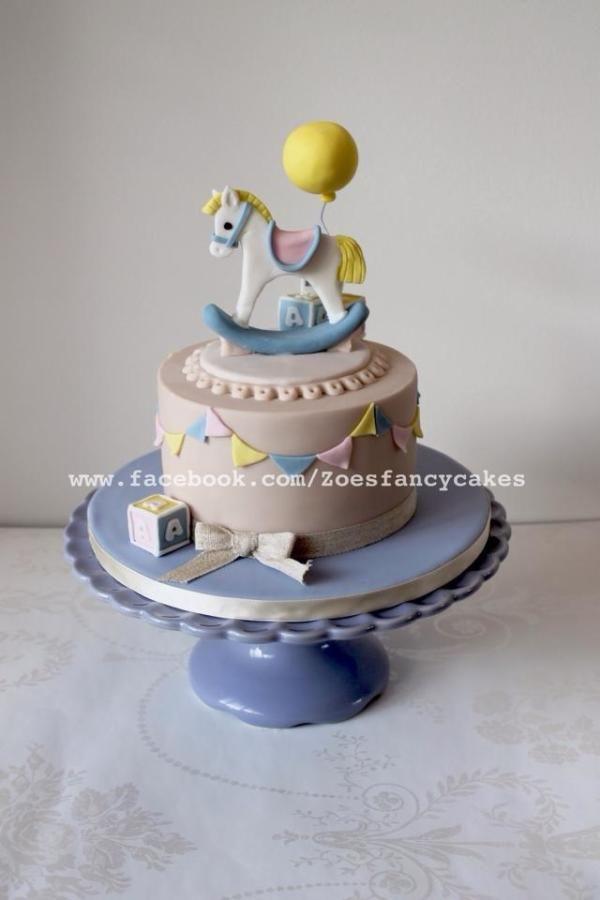Rocking horse cake - Cake by Zoe's Fancy Cakes
