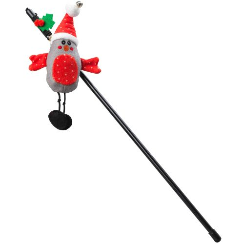 House of Paws He Tweets Christmas Cat Wand