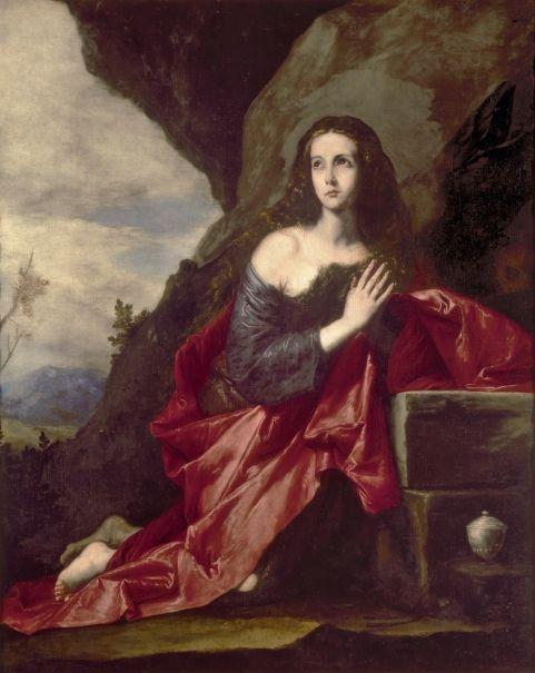 Magdalena penitente - Colección - Museo Nacional del Prado