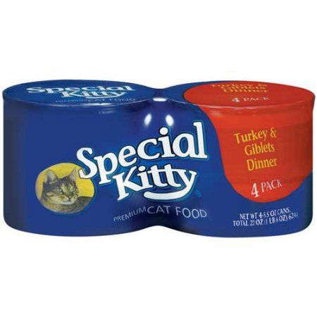 Special Kitty: Turkey & Giblets Dinner 5.5 Oz Cat Food, 4 Ct