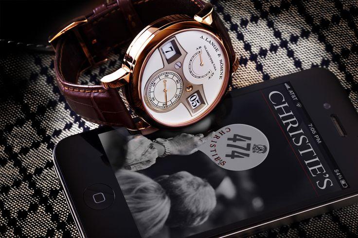 a. lange & sohne zeitwerk watch