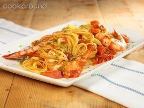 Linguine con mazzancolle: Ricette di Cookaround | Cookaround
