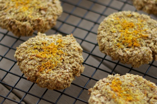 Orange, Ginger & Oat Cookies | Deliciousness | Pinterest