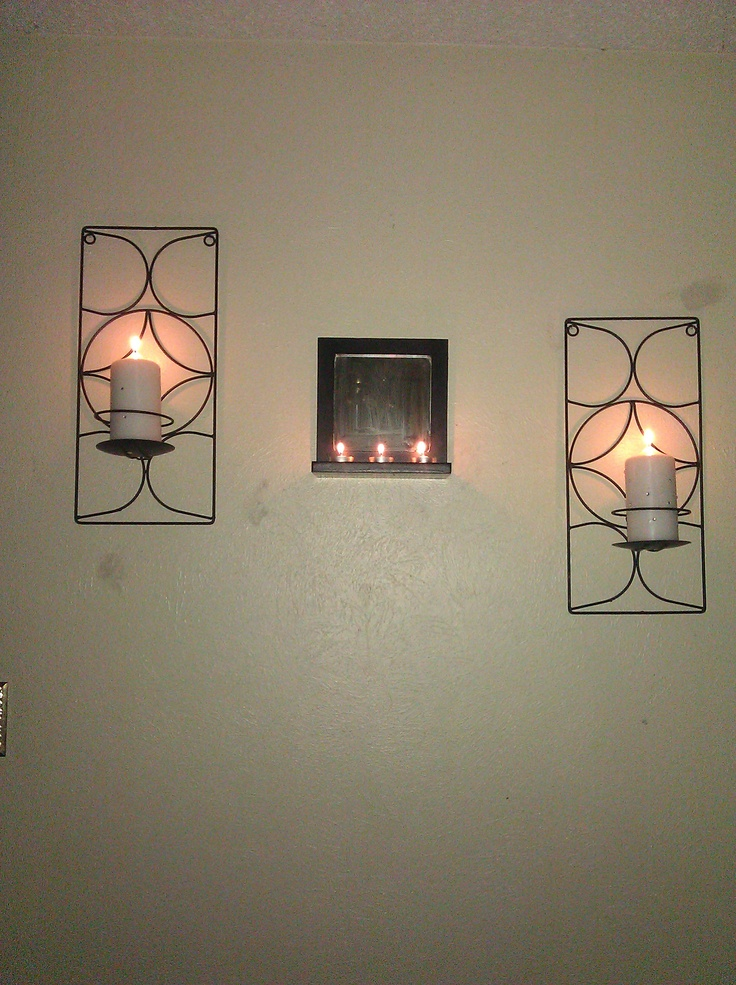 Candle Holder Wall Decor 26 best candle holder ideas images on pinterest | wall candle