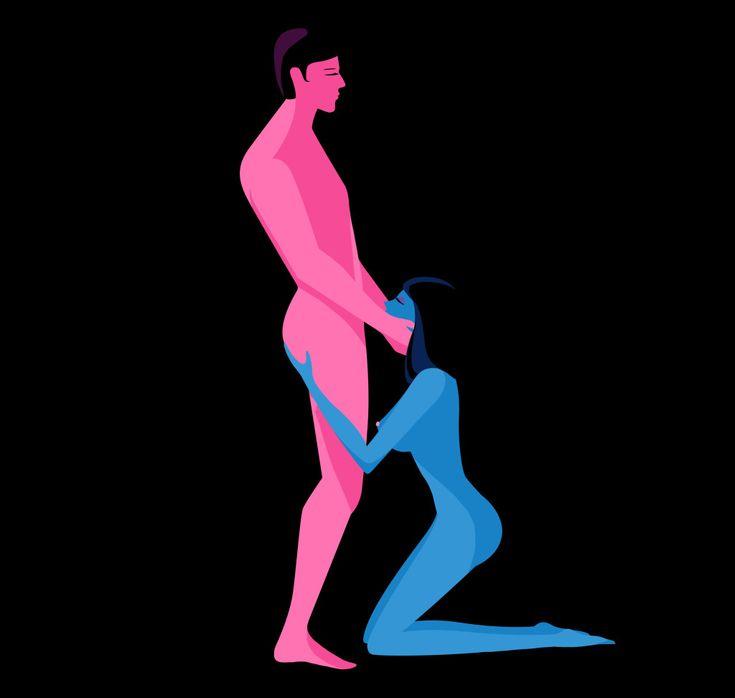 Las posiciones para hacer sexo oral