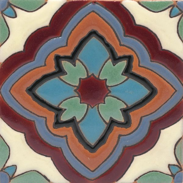 Malibu Tile Capitola 3 From Santa Barbara Ceramic Collection