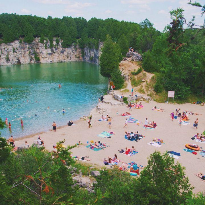 Elora Quarry | Ontario travel, Canada travel, Summer travel