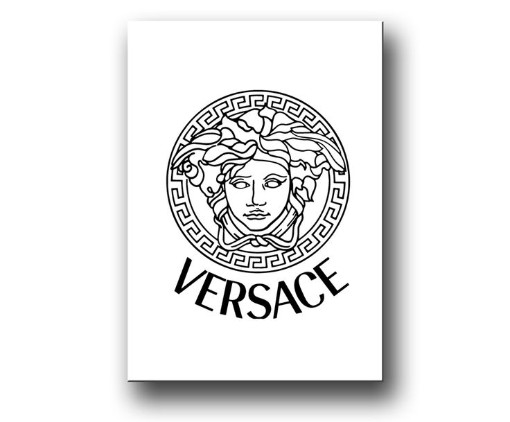 Fashion poster / canvastavla - Versace