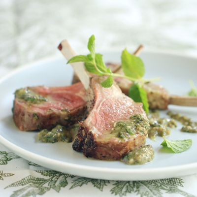 How to Roast a Rack of Lamb: Roasted Rack of Lamb with Mint-Basil Pesto « Nestlé Kitchens Easter