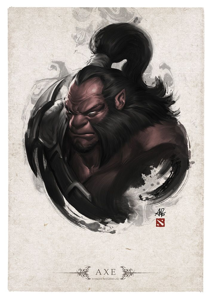 AXE Portrait by Artgerm.deviantart.com on @deviantART