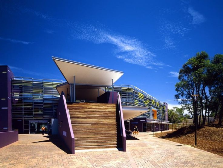 EDITH COWAN UNIVERSITY. NEW LIBRARY BUILDING IN PERTH, AUSTRALIA
