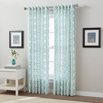 Link Back Tab Window Curtain Panel Part 59