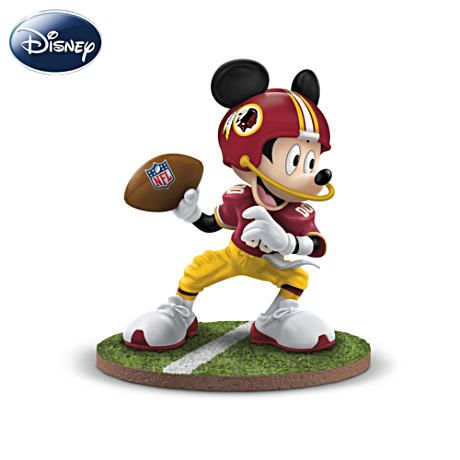 Disney Washington Redskins Quarterback Hero Figurine #Redskins #NFL