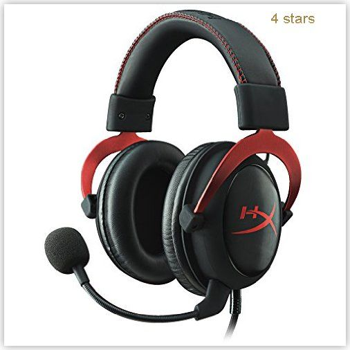HyperX Cloud Gaming Headset Mobile | Pc $0 - $100 0 - 100 Best Mobile Cloud Gaming headset HyperX II Red Rs.6200 - Rs.6400 UK Wireless
