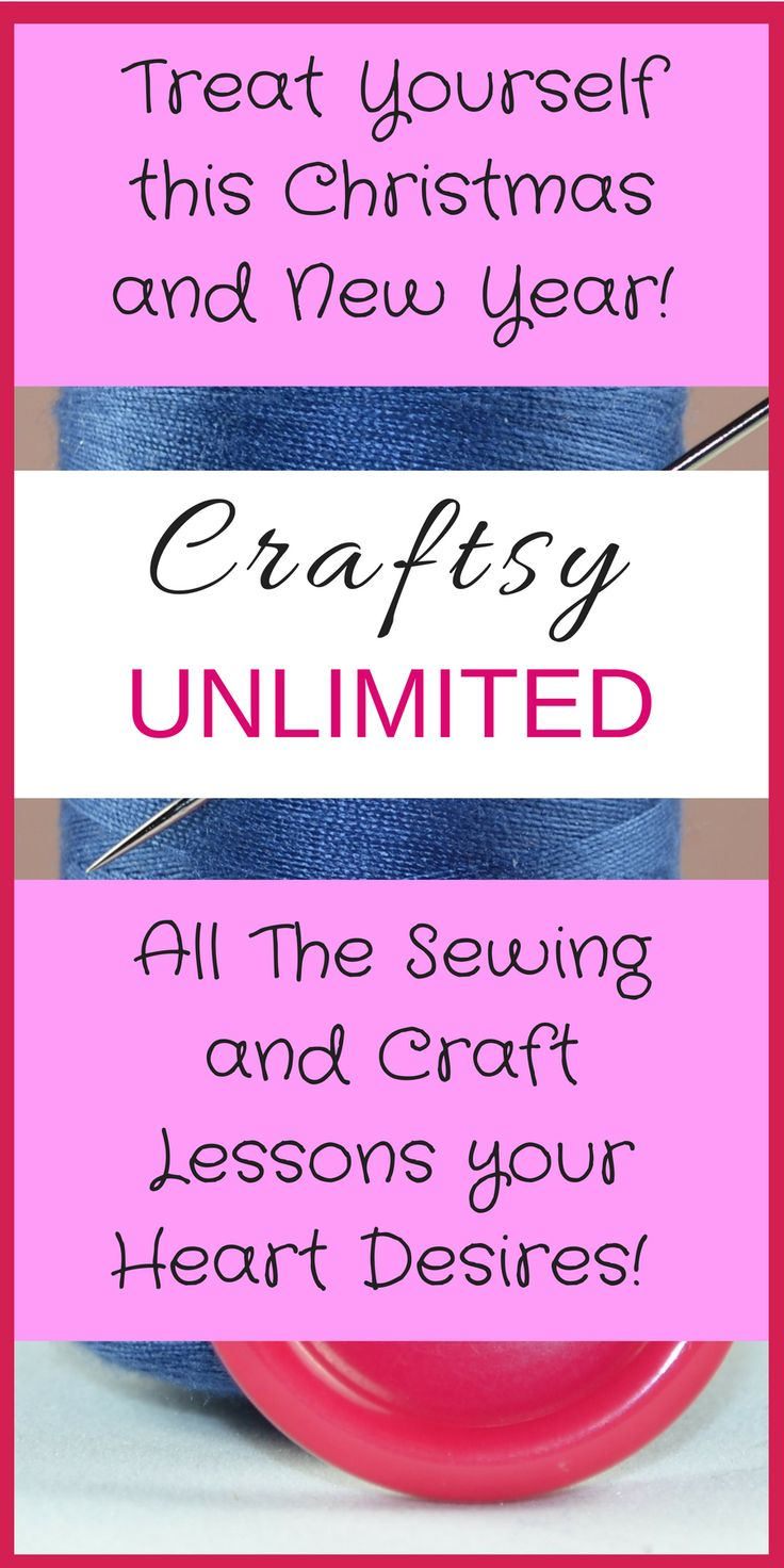 Introducing Craftsy Unlimited Unleash your creativity. Every Craftsy class, plus new and exclusive video tutorials weekly, now at your fingertips! Start your free trial afflink