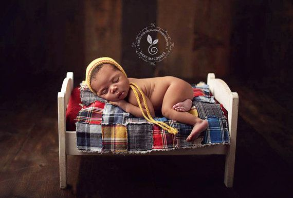 newborn boy MINI QUILT  photography prop  red by adorableprops, $55.00