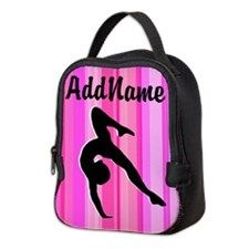 Gymnast Team Neoprene Lunch Bag Awesome personalized Gymnastics designs available on Tees, Apparel and Gifts. http://www.cafepress.com/sportsstar/10114301 #Gymnastics #Gymnast #WomensGymnastics #Gymnastgift #Lovegymnastics #PersonalizedGymnast