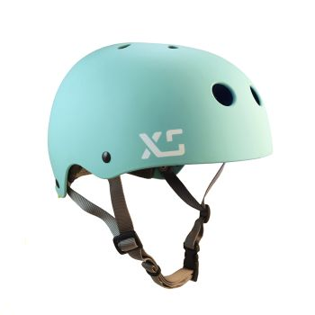Classic Skate helmet for cycling and skateboarding. Seaglass. #xshelmets