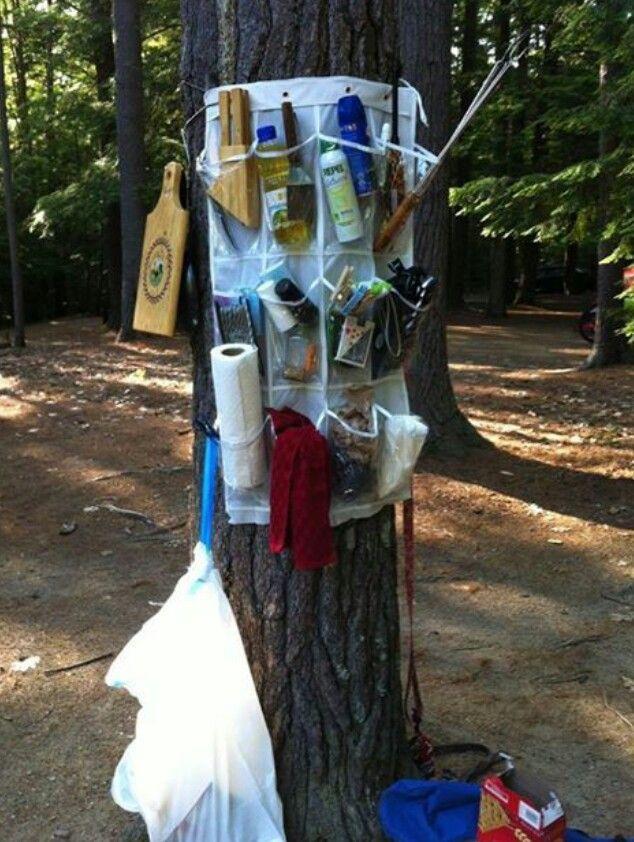 Excellent idea! Camping tips ideas