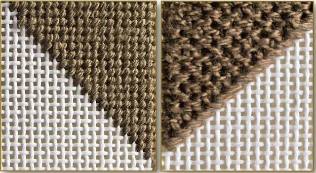Step-by-Step Basketweave Tent Stitch for Left & Right-Handers: Learn the Basketweave Tent Needlepoint Stitch