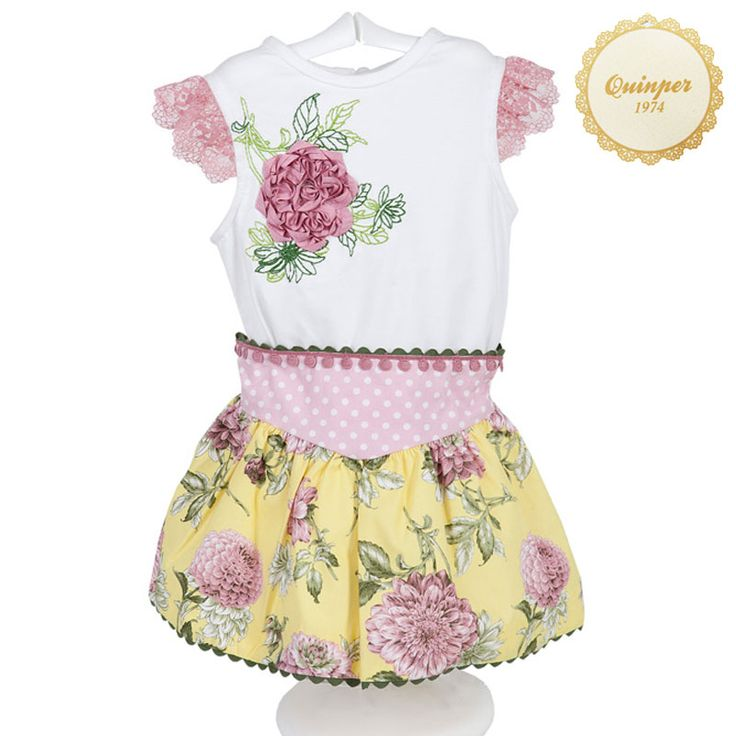 Quinper moda infantil dress baby clothing spanish