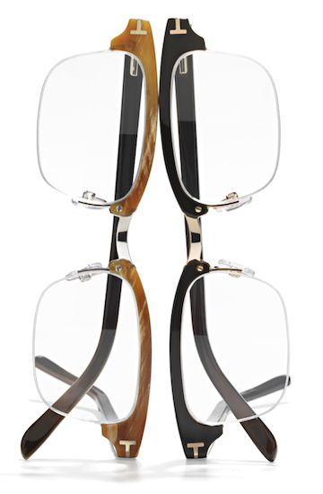 Tom Ford special edition eyewear. Available April 2012.