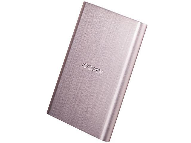 HD Externo da Sony, ideal para guardar arquivos em segurança.
