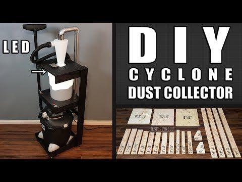 DIY Cyclone Dust Collector: 10 Passos (com imagens)