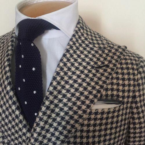"bespoketwins:  ""The ""DB"" Sport Coat, an essential piece for any mans wardrobe. The Real Bespoke! The Mark & Marlon Way! #bespokecouture #sumisura #mtm #bespoke #themarkandmarlonway #therealbespoke  """