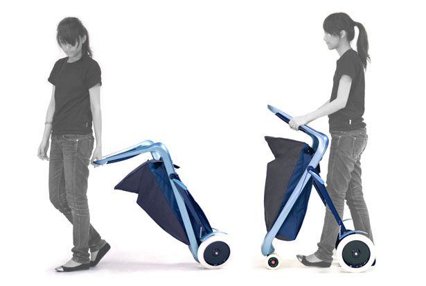 Empathik concept features a mobility aid for elderly people and a shopping trolley, so it's not just a walking frame.