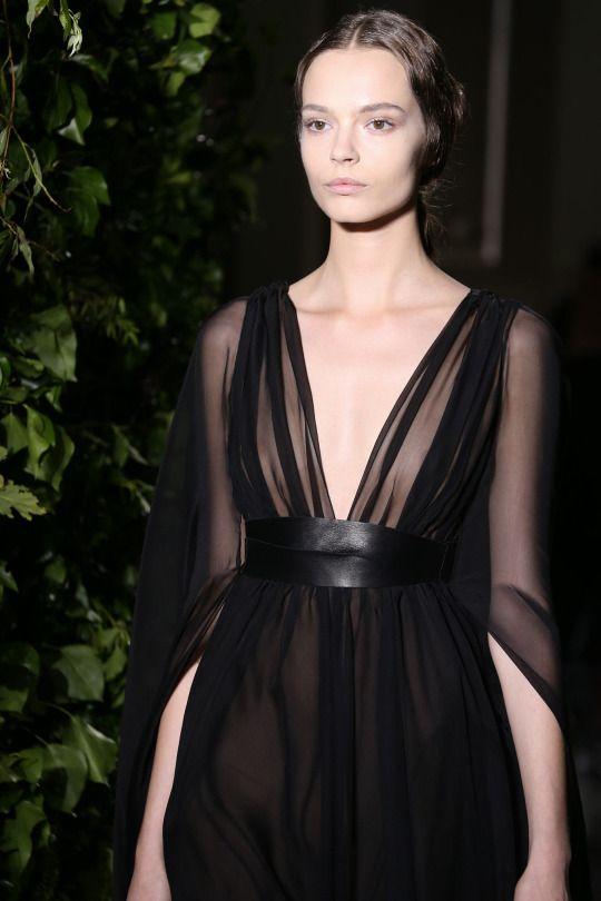 Mina Cvetkovic for Valentino Fall 2014 Couture