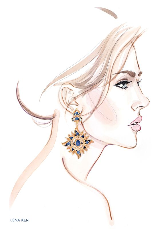 ACCESSORIES « Lena Ker | fashion illustration